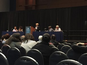 Panel at AWP with Rita Dove, Robert Pinsky, Yusef Komunyakaa