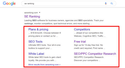 What Are Google Sitelinks and How to Get Some