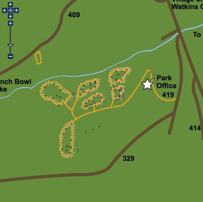 ABD Kamp Haritası