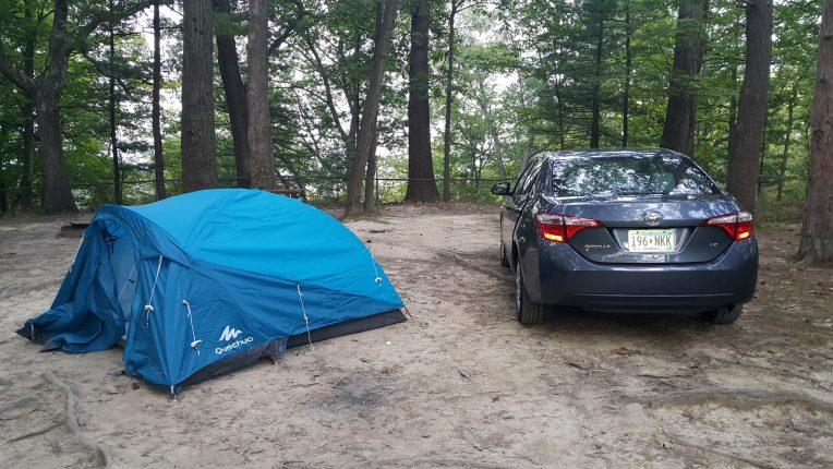 Letchworth State Park Çadırımız