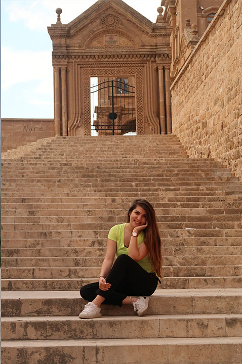 Mardin merdivenler