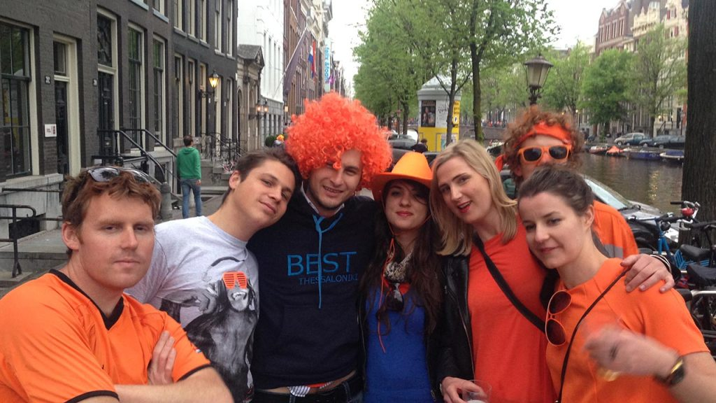 amsterdam kings day