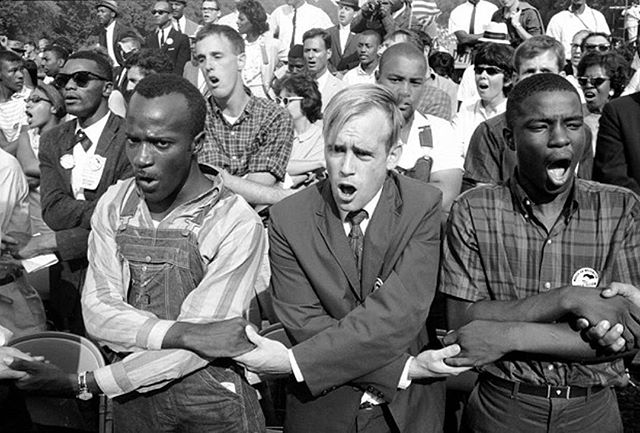 12 - August 23, 1963. March on Washington for Jobs and Freedom. Photo by Paul Schutzer.