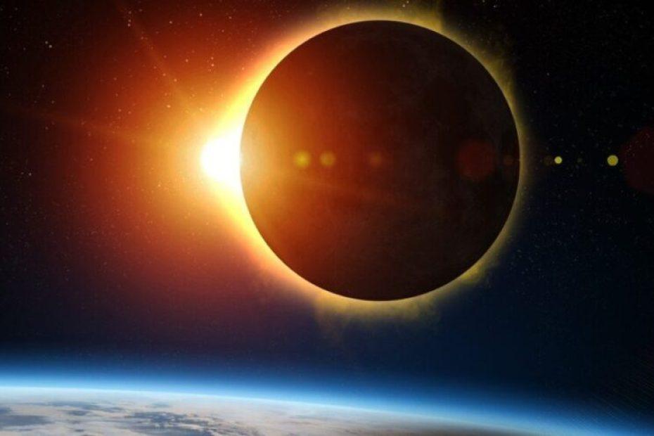 Eclipse anular de Sol. /Shutterstock