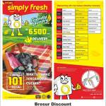 Brosur Discount Laundry Simply Fresh Jambi