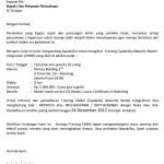 Surat Undangan Training Cmmi
