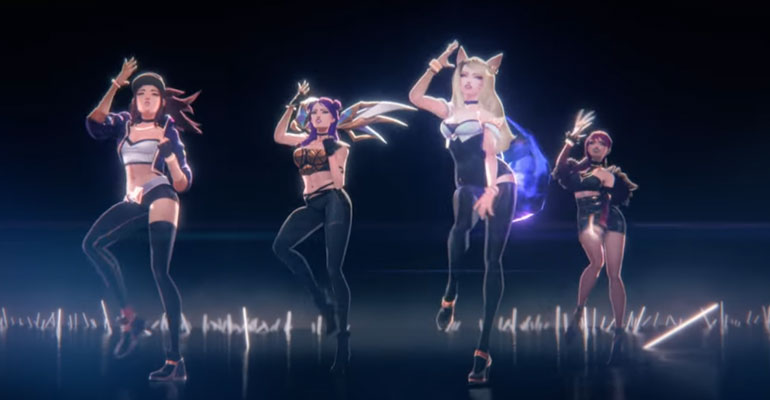 [MV/Lirik] K/DA - POP/STARS (Feat. Madison Beer, (G)I-DLE, Jaira Burns)