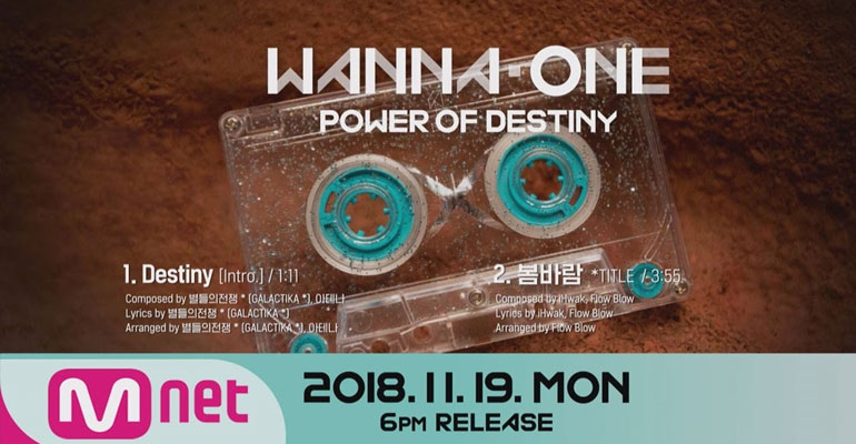 Wanna One Rilis Preview & Daftar Isi Album 1¹¹=1 (POWER OF DESTINY)