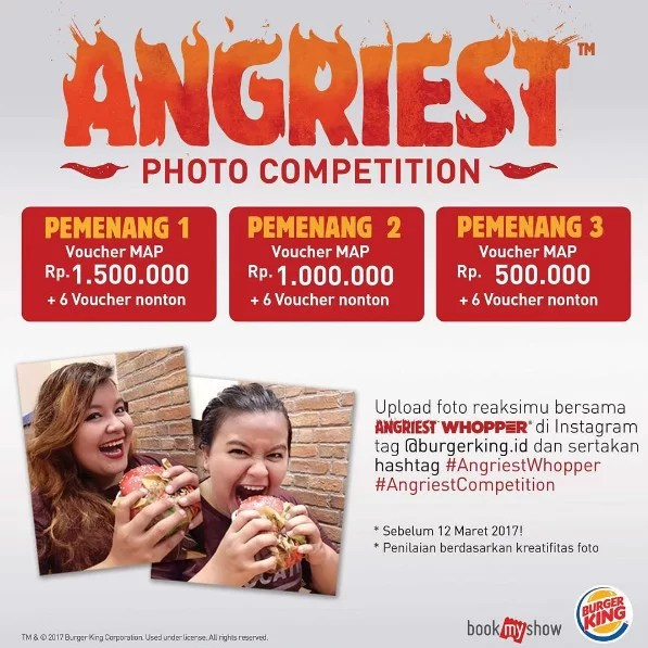 Angriest Photo Competition