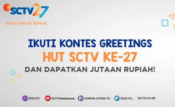 Kontes Greeting HUT SCTV ke-27
