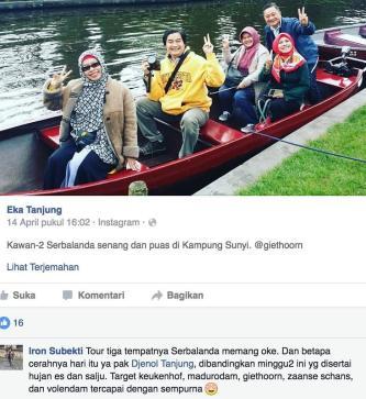 Giethoorn Dusun Terindah di Dunia