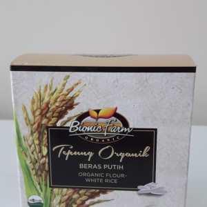 Tepung beras Putih Organik