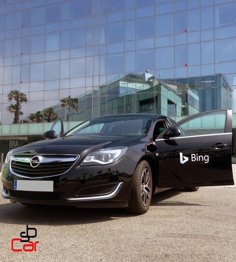 Coches y vehiculos para publicidad y eventos - SerbeCar