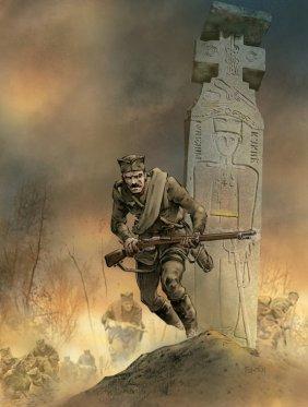 Српски војник током WWI (илустрација)