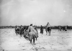 Српска војска током повлачења на Косову у Децембру 1915.