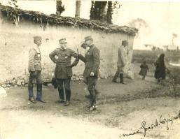 Војвода Мишић и ђенерал Леблоа пред Битољем