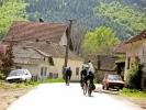 Хомољско село Дебели Луг, пружа се дуж пута ка Јасикову...