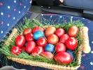 Јаја за учеснике, према боји кабаница