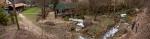 Изнад водопада у Лисинама