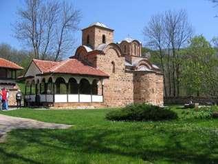 манастир Св Јована Богослова у селу Поганово пред кањоном Јерме