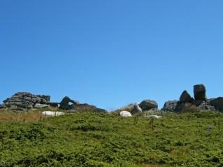 Детаљ са гребена Карамана