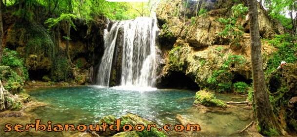 водопад Бледерија