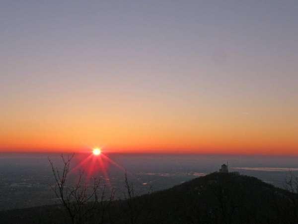 Залазак Сунца са Ђаковог врха