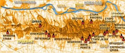 манастири Фрушке Горе