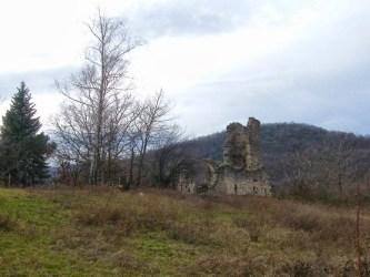 Лединачка кула - Црквиште цркве светог Ђорђа