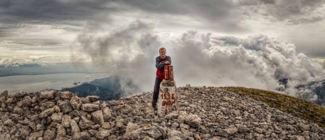 Немањин селфи на врху Румије