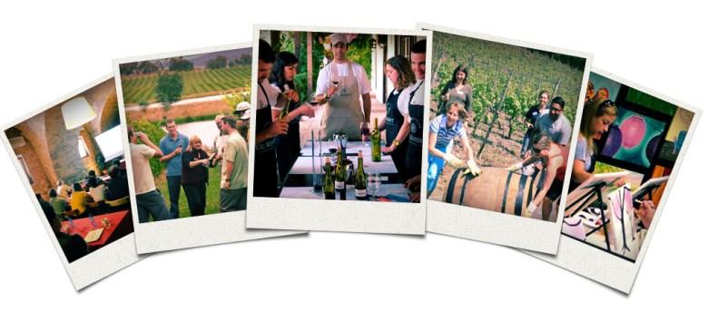Wine Event Team Buildings