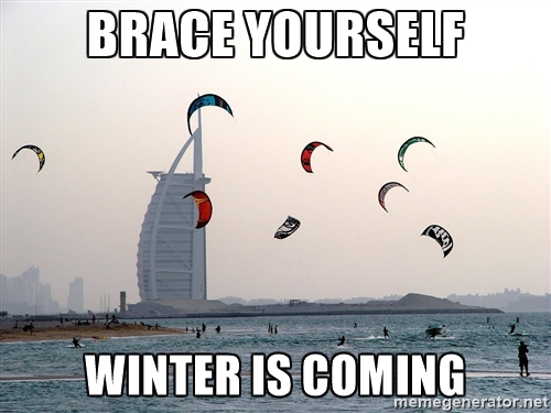 Winter is coming!!!!
