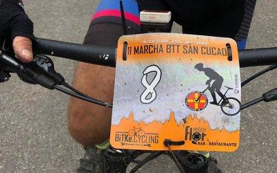 Dorsal PVC BTT Manillar-Marcha btt San Cucao
