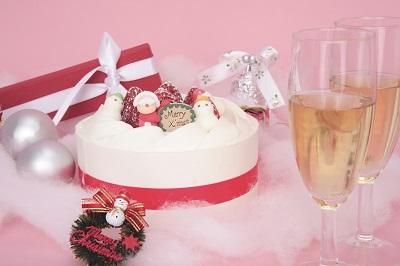 ふたりで食べるクリスマスケーキ