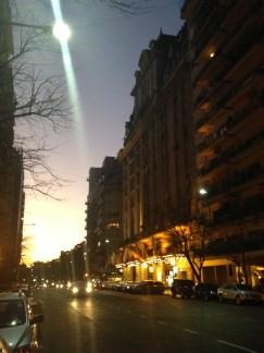 tarde en Buenos Aires