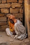 Indian sadhu in Jaisalmer, India