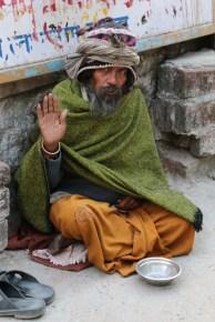 Indian sadhu in Rishikesh, India