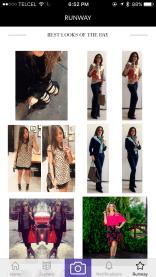 tizkka app screnshot fashion social network