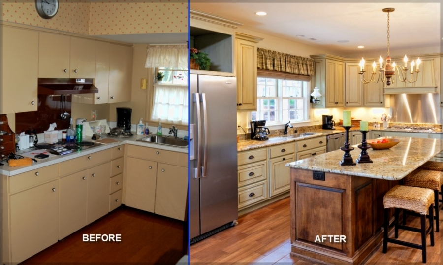 Kitchen Renovation Ideas Before And After gorgeous cheap kitchen remodel ideas cheap kitchen remodel