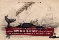 2 de Agosto de 1498: Cristobal Colón entra en el golfo de de la Ballena* en la actual Venezuela y es recordado como el primer europeo en avistar América del Sur. (*) Más tarde se le cambió el nombre a gofo de Paria después de que los balleneros del siglo XIX eliminaran la población de estos mamíferos de la zona.