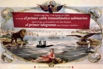 5 de Agosto de 1858: se tiende el primer cable transatlántico submarino desde el que se transmitirá, dos días después, el primer telegrama entre Europa y América.