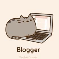 blogando com Pusheen ♥