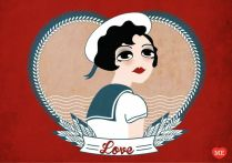 just some love - Illustration by Enrica Mannari