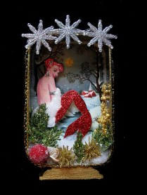 Mermaid Christmas Decoration