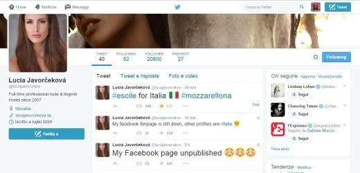 Lucia Javorčeková (in arte mozzarellona), è la nuovissima star del web