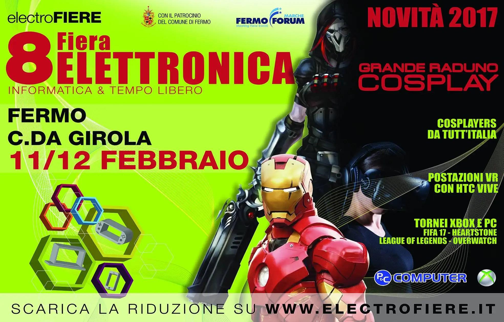 8° Fiera dell'elettronica a Fermo