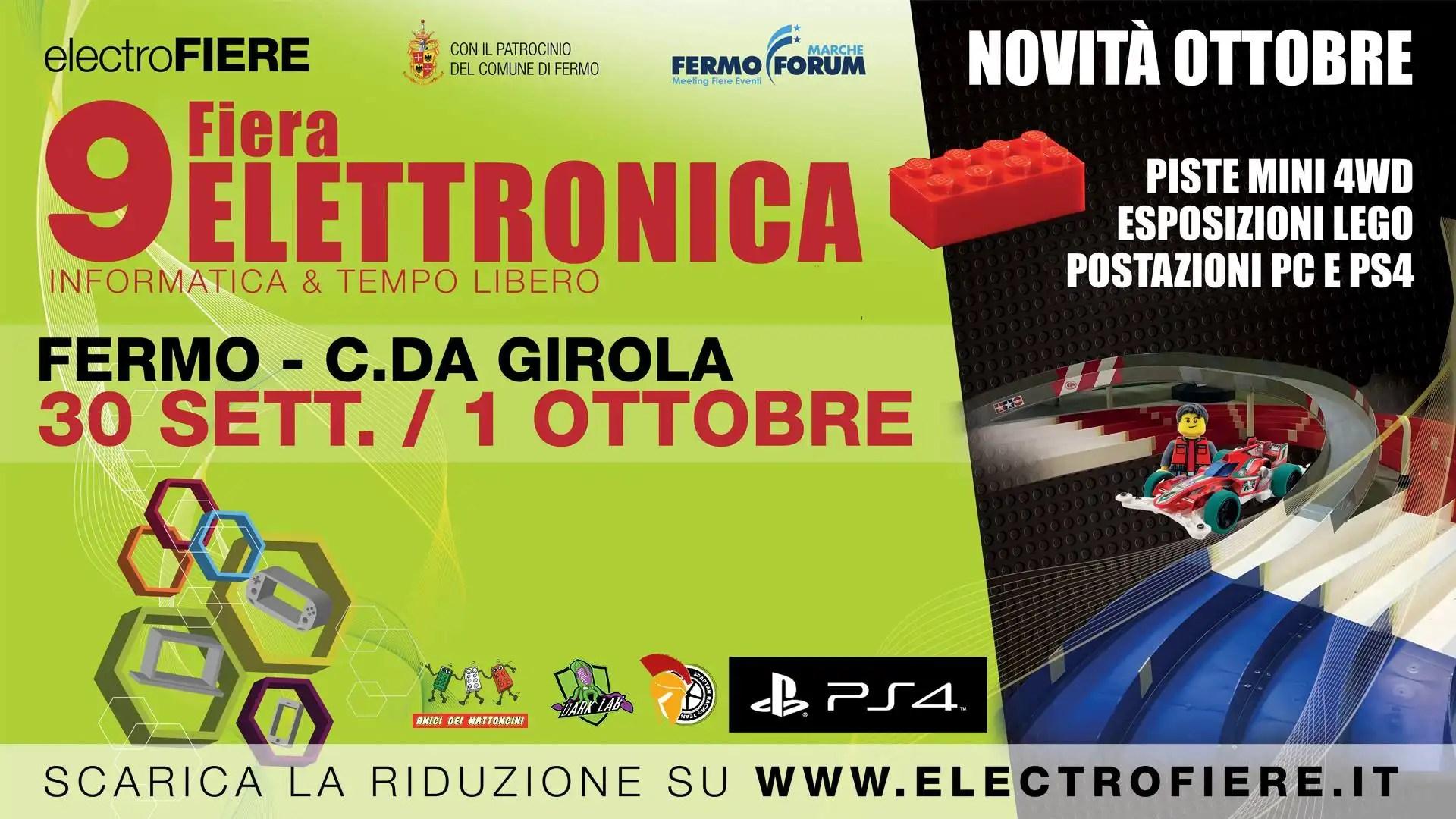 9° Fiera dell'elettronica a Fermo