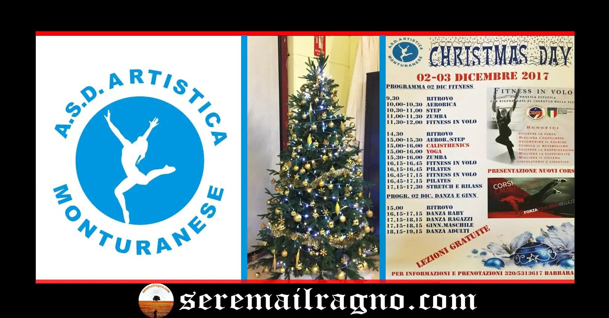 Christmas Day: Open Day con esibizione delle varie discipline sportive