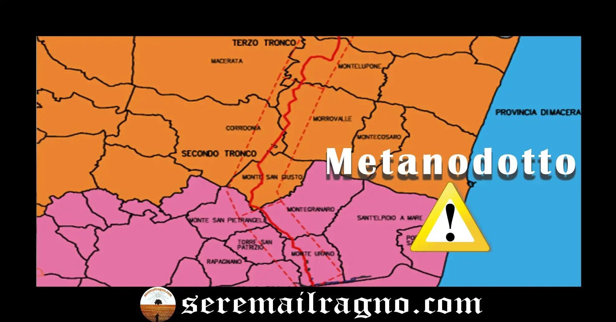 Metanodotto San Marco-Recanati: 34 Km di metano sotto il deretano