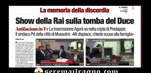 Lo sfogo di Alessandra Mussolini